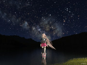 IA - under a star-filled sky -