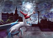 アナログで夜遊びラティズ描いてみたよ