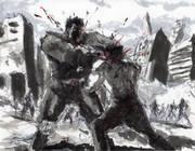 ラオウ VS ケンシロウ (12)