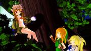 森で出会った妖精さん