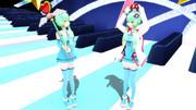 【MMD】くま式結月ゆかり 改変らいち♪v2モデルセット【モデル配布】