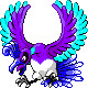 紫のホウオウ