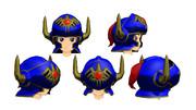 【MMD】今度は青い鎧の人らしい【モブ式モデル】