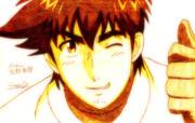 メジャー 茂野吾郎(野手)を描いてみた