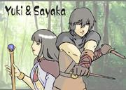 Yuki and Sayaka