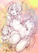 【ラフ】初音ミク「みくずきんちゃん」