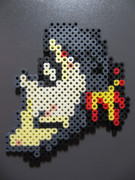 【超鬼畜企画】ポケモンをアイロンビーズで全キャラ作ってやんよNO.157:バグフーン