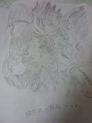 【よぉ】暗黒界の龍神グラファ描いてみた