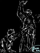 【切り絵】洛山VS秀徳【黒子のバスケ】