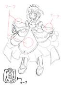 オリジナル騎士姫「アリューゼ=アクリュウス」