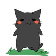 黒猫さんがアナタに言いたいことがあるそうです。【Gif画像】