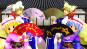 【MMD】扇子用画像配布