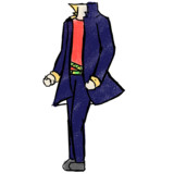 【GIF】秀作さんの衣装-ステップ踏んでみた【ドリクリ】