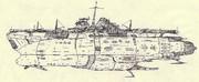 改型宇宙装甲航空母艦シナノ「自作艦」
