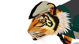 虎おじさんの横顔