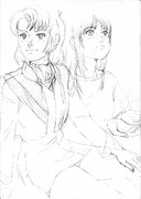 「真矢と乙姫」