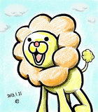 【2013.1.21】ポンデライオン描いたった