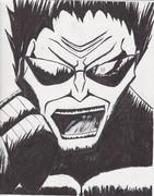<筆ペンで> ゼット、漢の魂の叫び