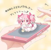 携帯ストラップ まどか☆クリーナー