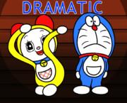 【GIF】ドラミ&ドラ