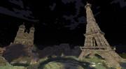 【Minecraft】エッフェル塔と大聖堂
