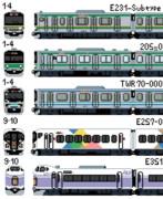 【ドット絵】JR東日本・新宿駅発着の車両群その2