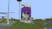 【Minecraft】 六花ちゃん作ってみた