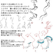 理屈に基づいた煙の描き方3