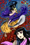 鎌倉時代の日本鬼子(仮)オリジナルサブキャラクター・謎の侍「令外(りょうげ)さま」