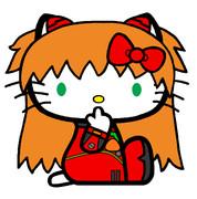 キティ・ホワイト×式波・アスカ・ラングレー 【TYPE01】