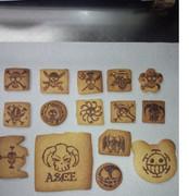 ワンピ海賊旗チョコクッキー作ってみたw