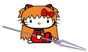 キティ・ホワイト×式波・アスカ・ラングレー 【TYPE02】