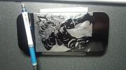 【筆箱】 火焔猫燐を彫ってみた