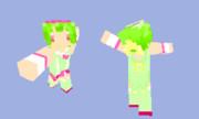 【Minecraft】ランカ・リー魔法少女パステル【スキン】