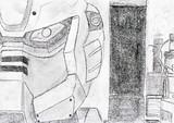 受験生が鉛筆一本で授業中に描いた絵シリーズ(Ez-8)