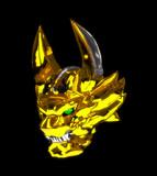 黄金騎士牙狼マスクモデル