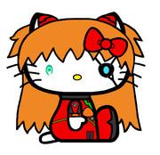 キティ・ホワイト×式波・アスカ・ラングレー 【TYPE03/ver.02】