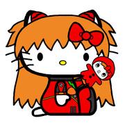 キティ・ホワイト×式波・アスカ・ラングレー 【TYPE04】
