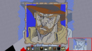 【minecraft】ジョセフ・ジョースター【地上絵】
