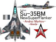 """Su-35 Flanker-E Andrei""""Akula""""Markov(Ver.2)"""