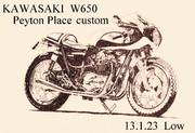 KAWASAKI W650 PeytonPlace custom