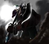 まるとさんのムチャぶり企画「鎧に大きい斧装備した獣っ子」