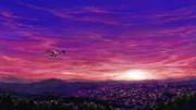 ルミャとシャンが飛ぶ空