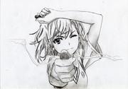 学園都市第三位超電磁砲こと御坂美琴をシャーペンで描いてみたらこうなった