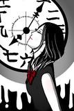 時計少女。