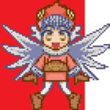 * モー・ショボー(ドット絵風)