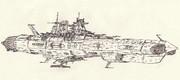 宇宙戦艦オセアニア「自作艦」