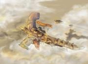 帝国軍軽巡空艦 バリステア