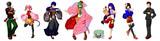 千本桜動画の集合絵、見やすい版