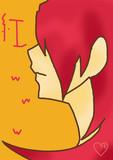 紅髪男子。